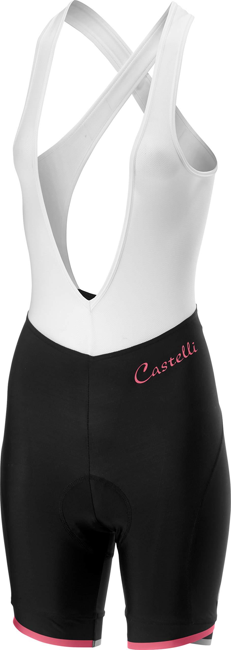 Castelli Vista Bibshort Black/Pink Size XL