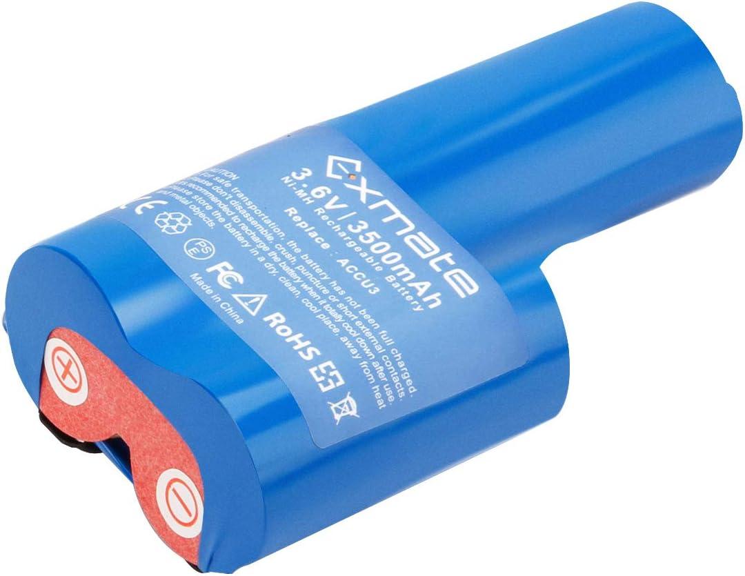 Exmate 3.6V 3.5Ah Bater/ía para Gardena ACCU3 Ni-MH Bater/ía de repuesto
