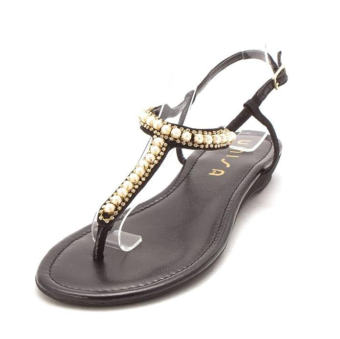 379e2d5053c175 Unisa Womens Unlawren Split Toe Casual T-Strap Sandals