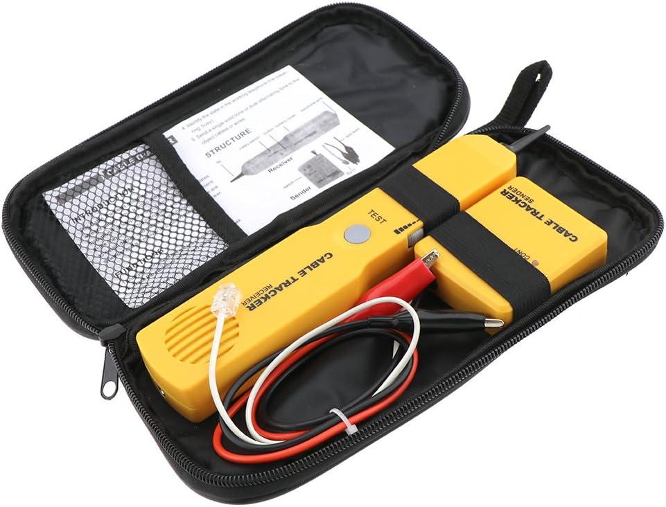 Kabel Finder Tongenerator Sonde Tracer Rj11 Draht Tracker Netzwerk Tester Kit Baumarkt