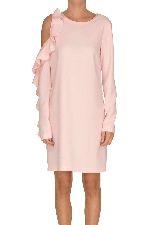 Pinko Women's MCGLVS0000005104E Pink Polyester Dress