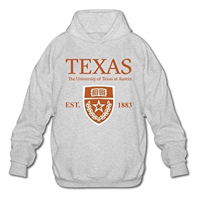 db0cb5c4b00 QTHOO Men s Long Sleeve University of Texas at Austin Established 1883  Lightweight Hoodie at Amazon Men s Clothing store