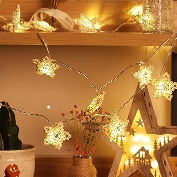 Navidad Decoracion Interior Exterior Luces Estrella de Cinco Puntas Led para Luces de Jardín Navidad Decorativas para Navidad Jardín Entrada Fiestas Boda Decoración: Amazon.es: Bricolaje y herramientas