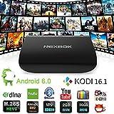 NEXBOX A1 4K TV BOX Amlogic S912 Octo-core 2GHz ARM Cortex-A53 64-bit Android 6.0 2G 16G Smart STB KODI 16.1 Support Bluetooth 4.0 Dual Band Wifi 2.4G/5G HDMI 2.0