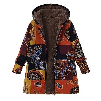 Niña Invierno fashion Abajo chaqueta,Sonnena ❤ Abrigo de manga larga con capucha mujer talla grande Abrigo con cremallera de piel mullida de algodón moda ...