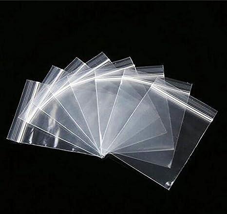 Bolsas de plástico reutilizables, 100 unidades ...