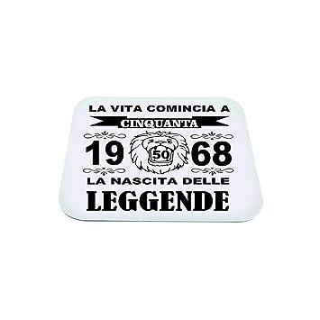 Ratón Pad reposamuñecas PC texto Vita Comincia 50 años 1968 ...