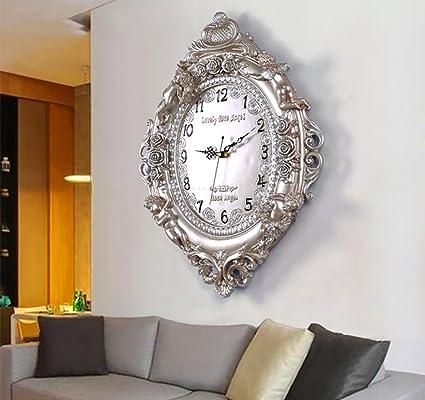 reloj de pared Silencioso moderno Engranajes reloj de campana relojes de pared para la sala de