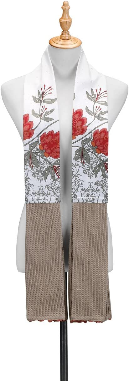 "Kitchen Towel Boa Wine O/'Clock DEMDACO  ByDesign Serving 68/"" Long Great Gift"