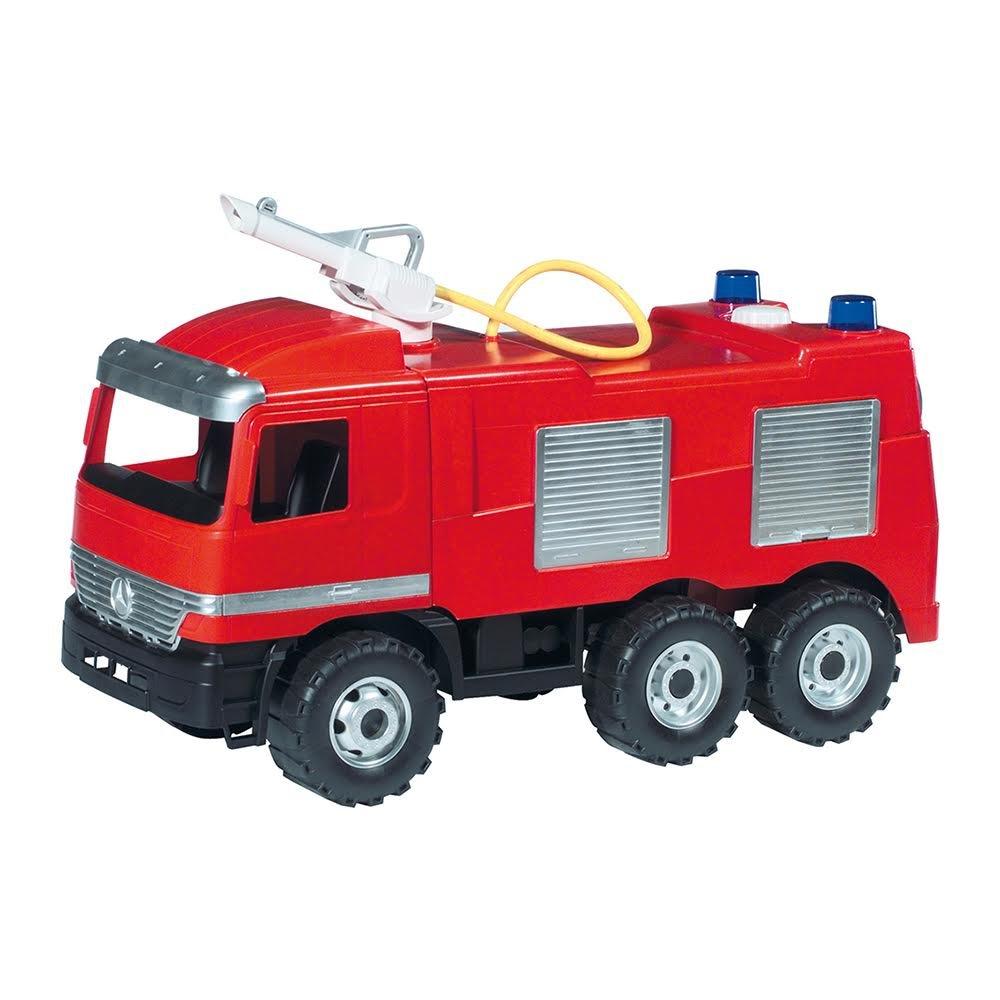Lena Starke Riesen Feuerwehr Spielauto rot