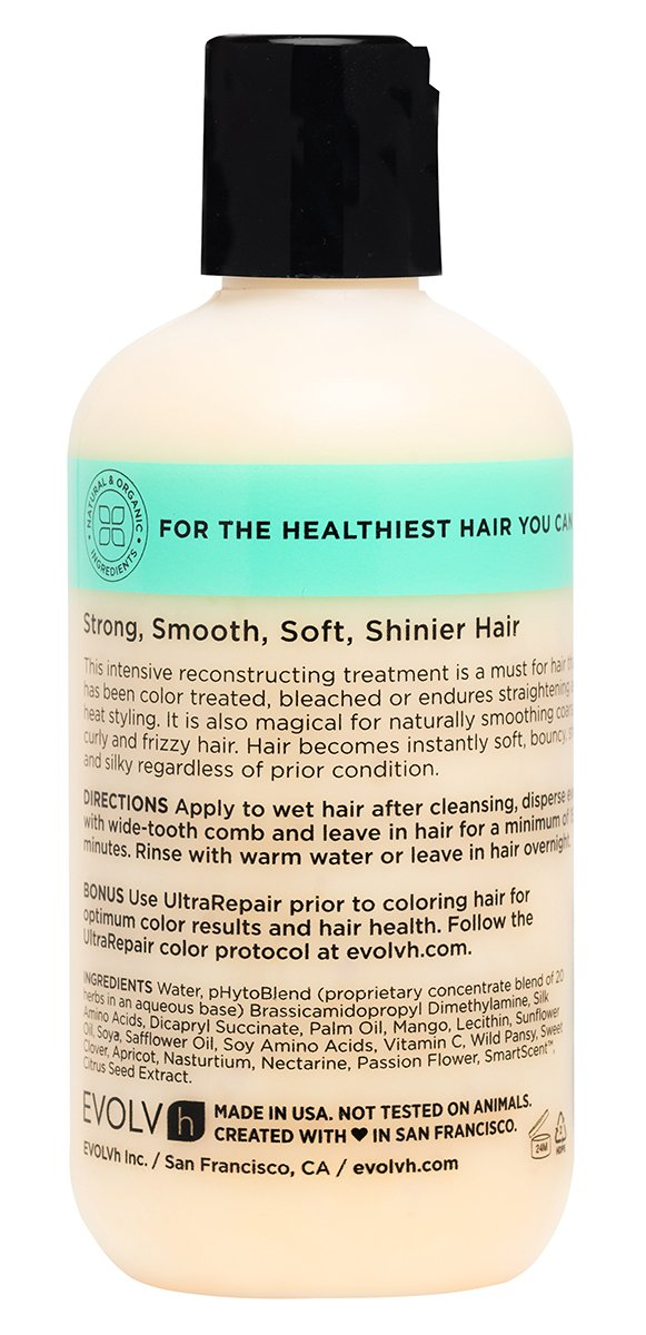 EVOLVh - Organic UltraRepair Hair Masque (8.5 oz/250 ml) by EVOLVh (Image #2)
