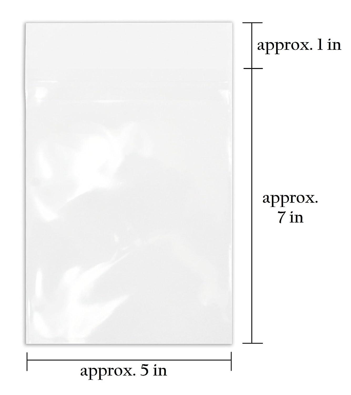 Golden State Art 100 5 1//4 x 7 1//8 clear Bags for 5x7 mat matting