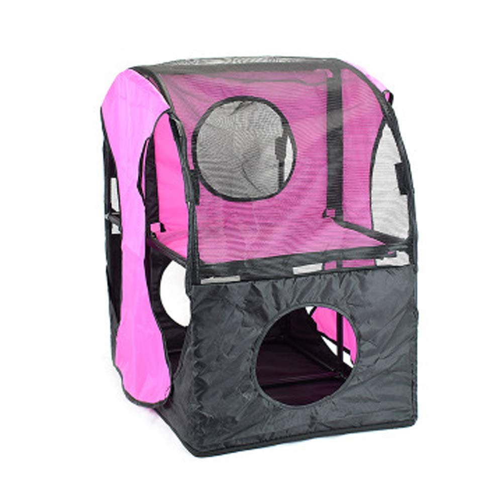 Oxford Cloth cat Tunnel cat Toy Detachable Combination cat Litter Creative Double cat Climbing Frame