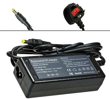 65W Cargador para Compaq Presario V4000 Series: V4035EA, V4005CL ...