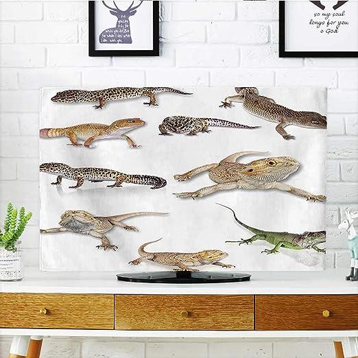 Leighhome - Reptil de cocodrilo en el río con Palmeras, diseño de ...
