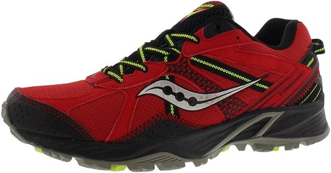 SAUCONY Grid Excursion TR 7 Zapatilla de Trail Running Caballero, Rojo/Negro, 46: Amazon.es: Zapatos y complementos