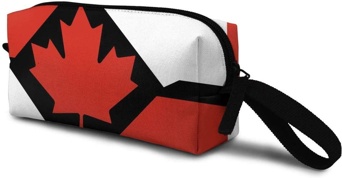 Women Cosmetic Storage Bag Flag of The Canadian Portable