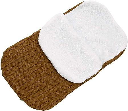 IEUUMLER Winter Mantas envolventes Manta Saco de Dormir para Recién Nacido IE051