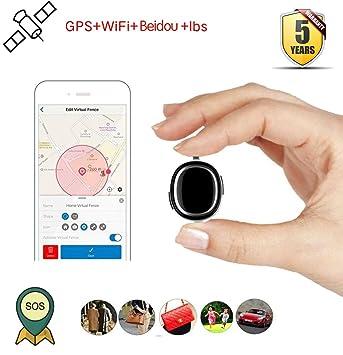 WSK Mini perseguidor Portátil de GPS, vehículo del Coche Niños GPS del bebé Que Sigue