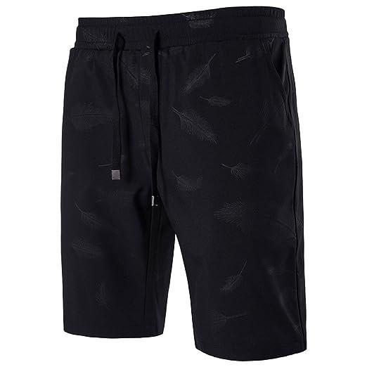 d8cd1ebaf4 RAISINGTOP Men Shorts Knee Length Swim Trunks Quick Dry Beach Boardshorts  Swimming Water Pants Capri Lounge Outdoor | Amazon.com