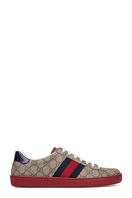 Gucci Hombre 429445K2LH09767 Multicolor Cuero Zapatillas: Amazon.es: Zapatos y complementos