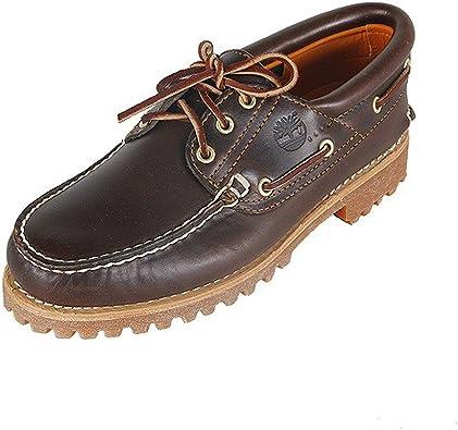Contrapartida banda transfusión  Timberland Authentics 3 Eye Classic, Náuticos para Hombre: Amazon.es:  Zapatos y complementos