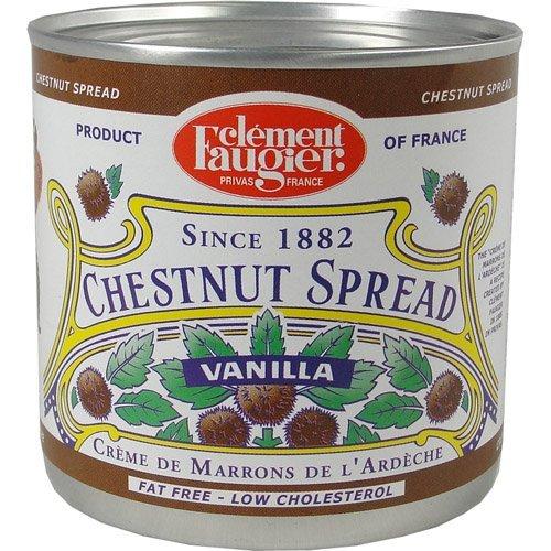 Gourmet Chestnut spread from France Vanilla 17.5 oz (PACK OF 3)