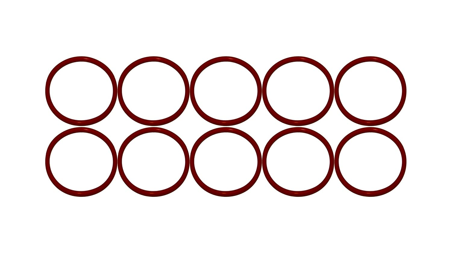 Ozone and Sunlight 12-1//2 ID 13 OD Sterling Seal ORSIL454x10 Number 454 Standard Silicone O-Ring Pack of 10 Excellent Resistance to Oxygen Vinyl Methyl Silicone 70 Durometer Hardness