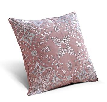 Cojín bordado almohada abrazo rosa funda de almohada regalo ...