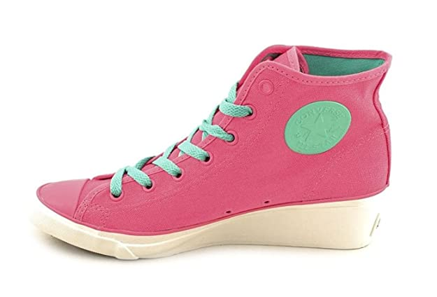 Converse Womens All Star CT Hi Ness Hi Rose Wedge Sneaker