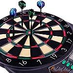 WIN.MAX Cible Flechette,Jeux de Flechette Électronique,21 Jeu Principals et 65 Jeux Variations Cibles Électroniques pour… 9