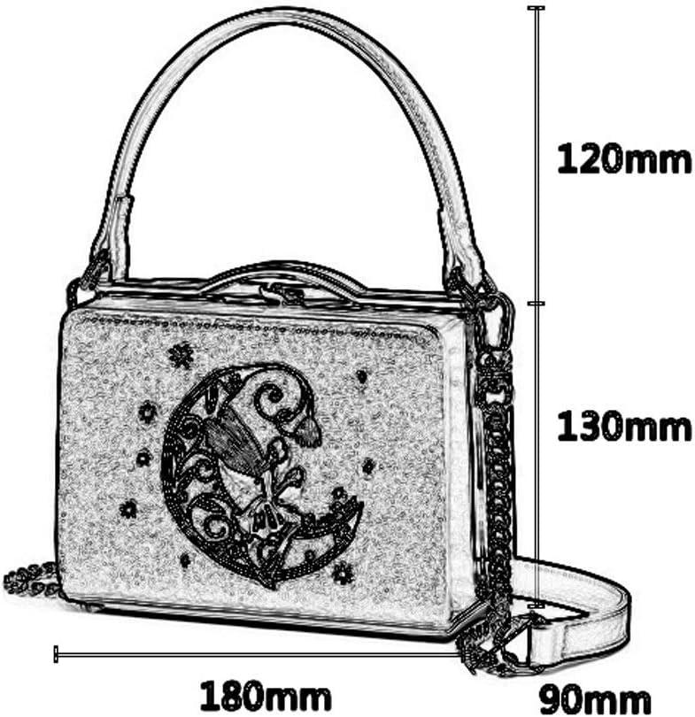 Xiao Jian Hand Bag Shoulder Bag Korean Retro Embroidery Large Capacity Adjustable Shoulder Bag Banquet Bag Velvet 18X9X25cm Crossbody Bag