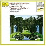 English Suite No. 3 / Capriccio BWV 992 / Transkriptionen fur Klavier