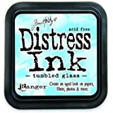 Ranger DIS-27188 Tim Holtz Distress Ink Pad, Tumbled Glass