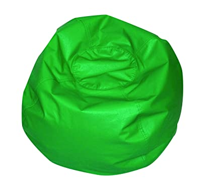Admirable Amazon Com Childrens Factory 26 Round Bean Bag Green Alphanode Cool Chair Designs And Ideas Alphanodeonline
