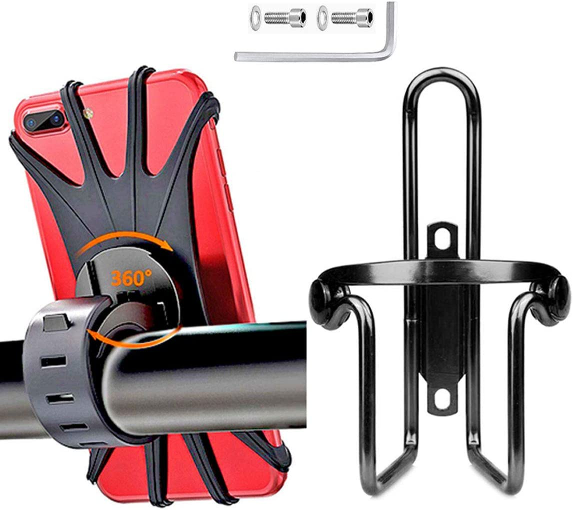360° Bike Bracket Scooter Bicycle Water Bottle Drink Cup Holder Mount Portable
