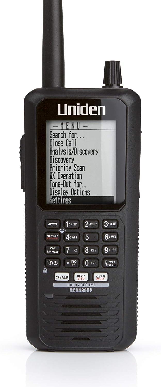 Uniden BCD436HP HomePatrol Series