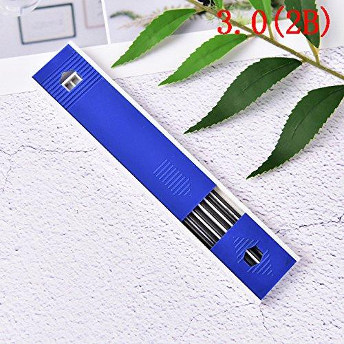 snnplapla 6個/ボックス2.0 / 3.0 mm Mechanical Pencil Graphite Leads Refills HB / 2b / 4b B0781NGNX9 3.0MM(2B)
