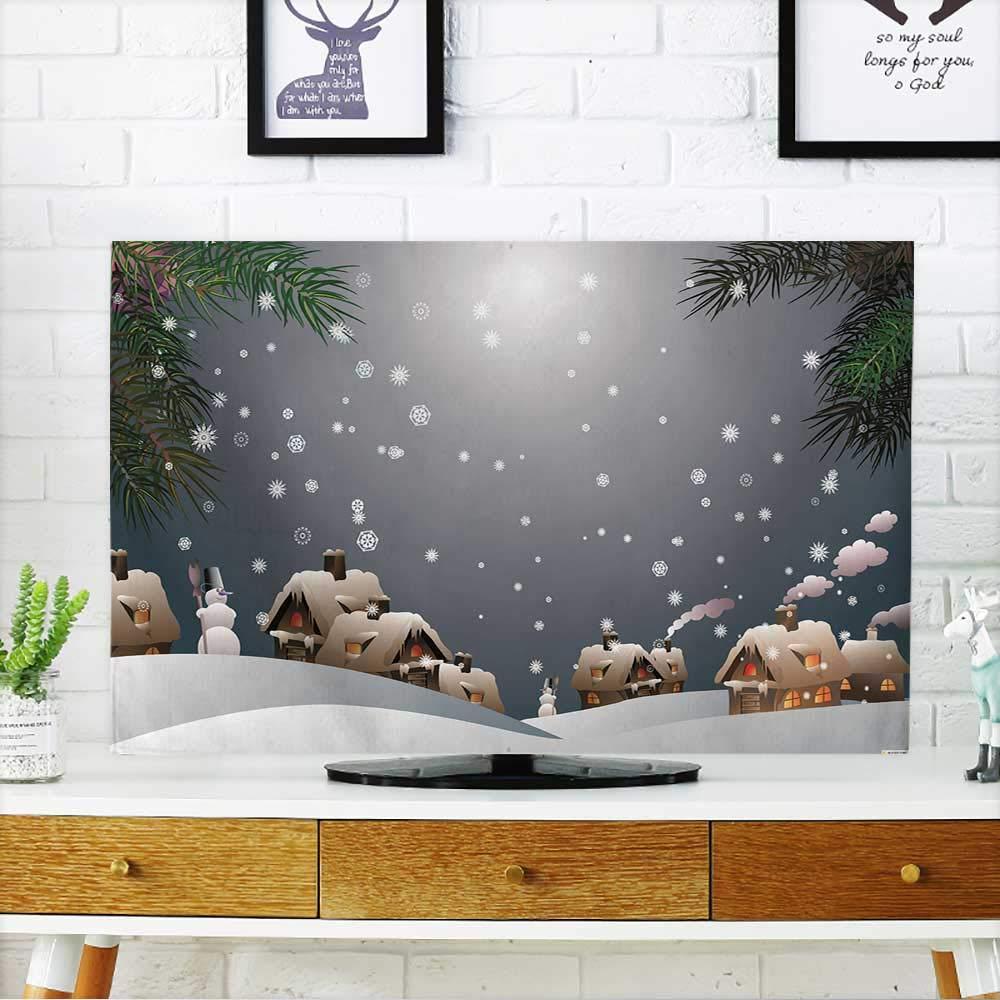 Bokeh ディフューズライトであなたのテレビを抽象的な背景を保護 テレビを保護 幅19 x 高さ30 インチ/テレビ32インチ W36 x H60 INCH/TV 65