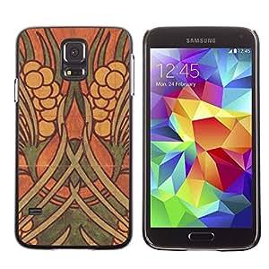PC/Aluminum Funda Carcasa protectora para Samsung Galaxy S5 SM-G900 Art Wall Painting Ancient / JUSTGO PHONE PROTECTOR