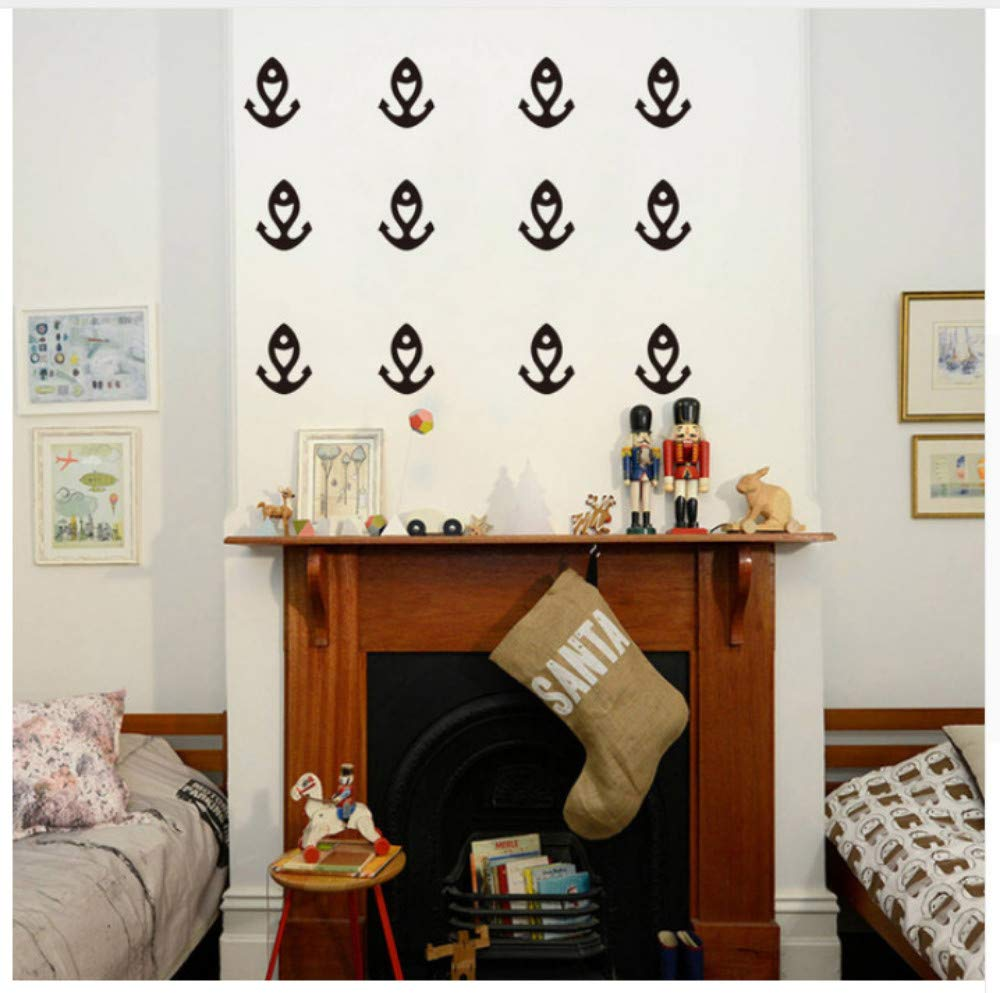Amazon.com: 24Pcs Vinyl Wall Stickers Art for Kids Baby Boys ...