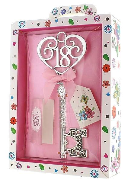Amazon.com: Tulip Studio Silver Age 18 Female Keepsake Key ...