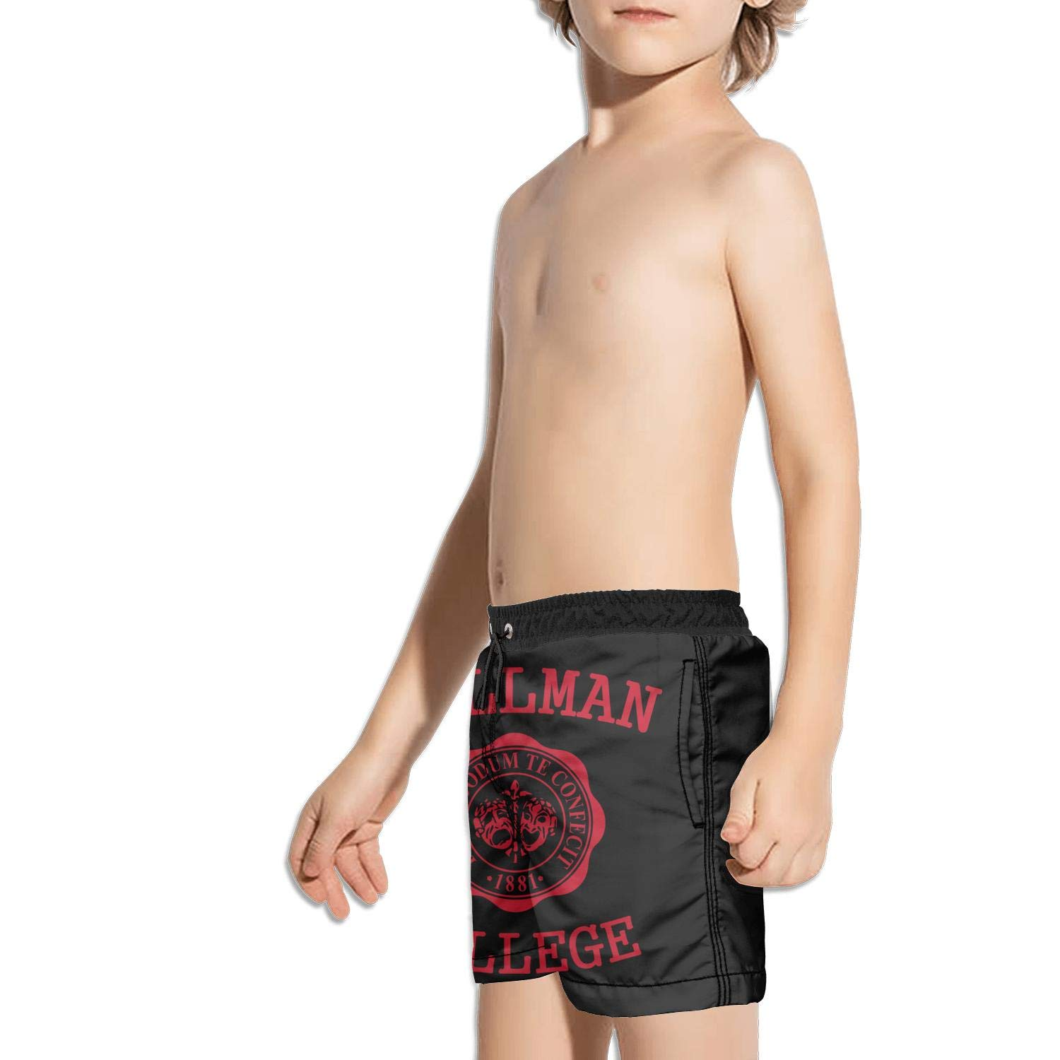 hhhuiopp Kids Pocket Cool Fully Lined Stretch Board Swim Shorts