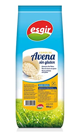 Esgir Copos de Avena sin Gluten - Paquete de 6 x 450 gr ...