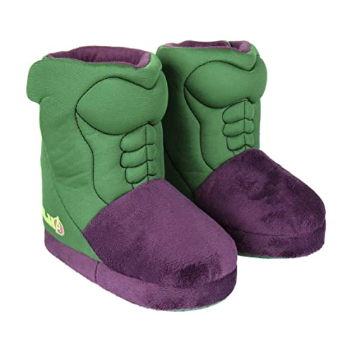 Cerdá Zapatillas de Casa Bota Avengers Hulk, Niños: Amazon.es: Zapatos y complementos