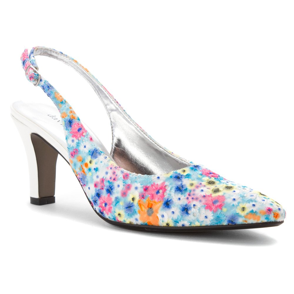 David Tate Women's Lace Shoe B00M4Q5314 10 B(M) US|Bright Multi