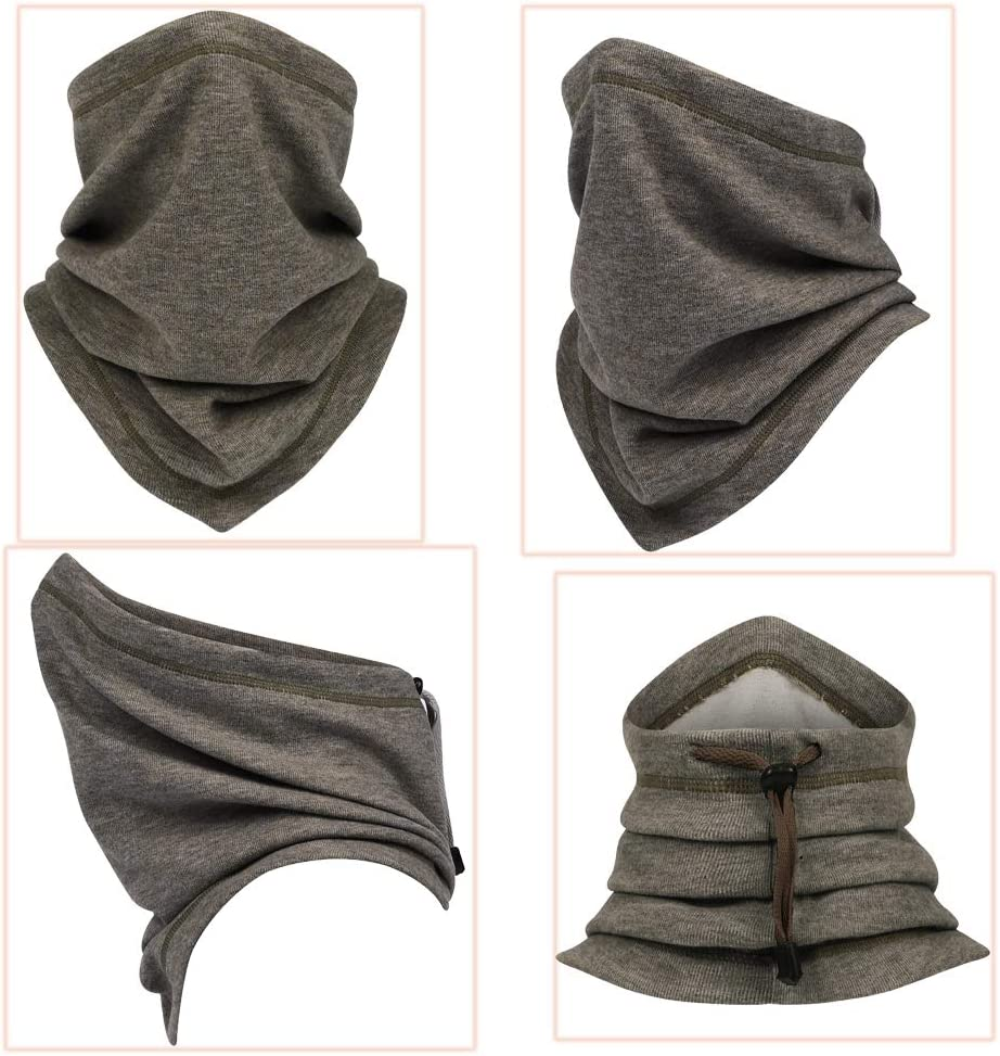 for Men Women for Outdoor Ski Running Cycling Motorcycle in Cold Weather Winter Fleecr Winter Neck Warmer Gaiter//Face Scarf//Neck Cover//Ski Face Mask
