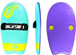 As Seen On Shark Tank! The Slyde Grom Soft Top Body Surfing Handboard/Handplane, Easy to Use, Fun to Master, Safe for for All Ages, Portable, Light Weight, Durable with Exceptional Buoyancy