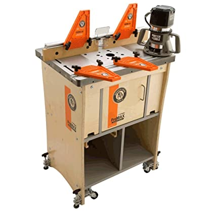 bench dog promax complete router table system includes profence rh amazon com bench dog router table extension bench dog router table uk