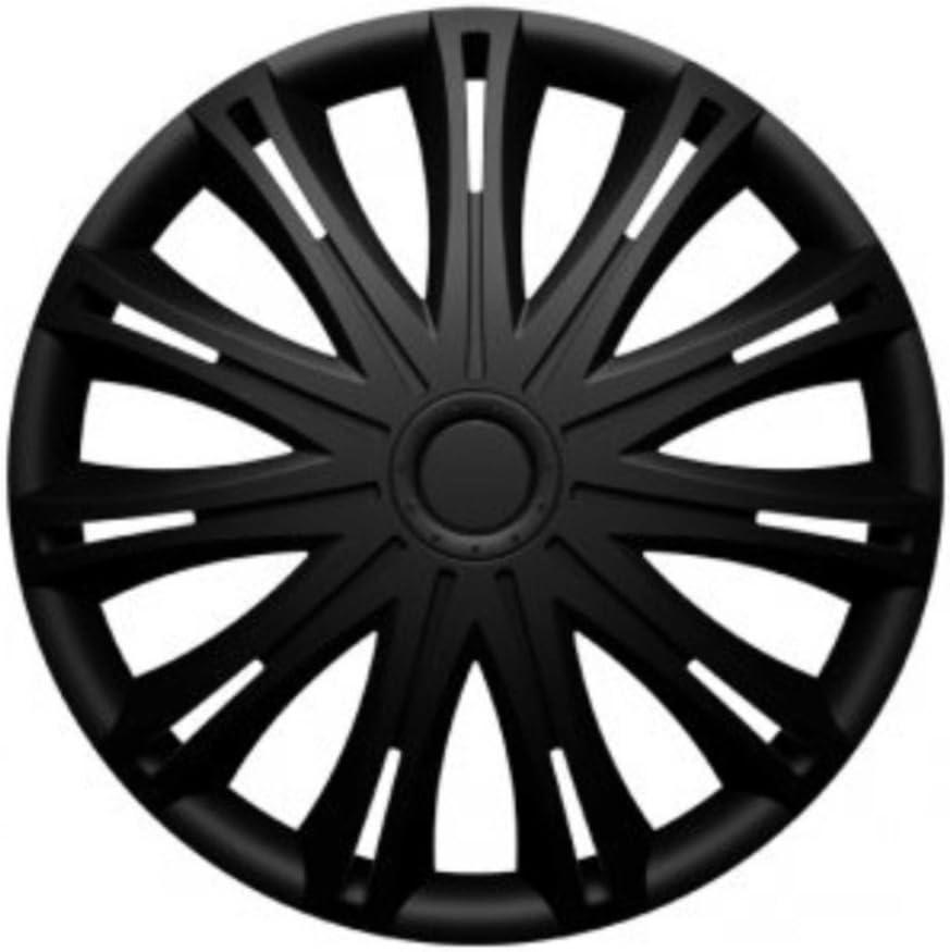 Universal Radzierblende Radkappe schwarz 17 Zoll f/ür viele Fahrzeuge passend